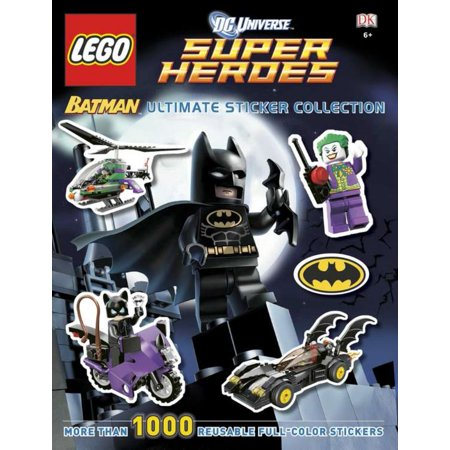 Dc Universe Super Heroes Lego Batman Ultimate Sticker Collection