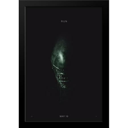 Alien  Covenant 28X36 Large Black Wood Framed Movie Poster Art Print