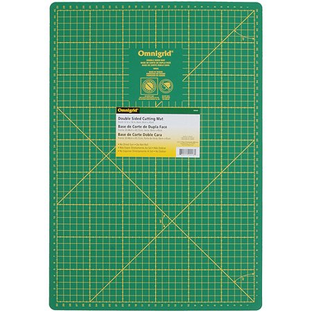 Omnigrid Cutting Mats - Omnigrid Double Sided Mat Inches/Centimeters, 12