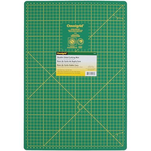 "Omnigrid Double Sided Mat Inches/Centimeters, 12"" x 18""/30cm x 45cm"
