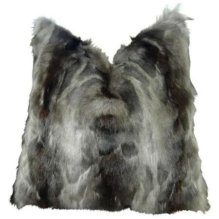 "Plutus Brand Ash Handmade Throw Pillow, (26"" x 26"") - image 1 de 1"