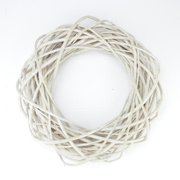 Pealed Weeping Willow Branch Spring Wreath - 15 Inch