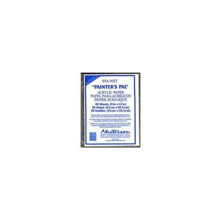 Masterson Sta-Wet Painter's Pal Refill Sheets, 40/Pkg. - Palette Paper