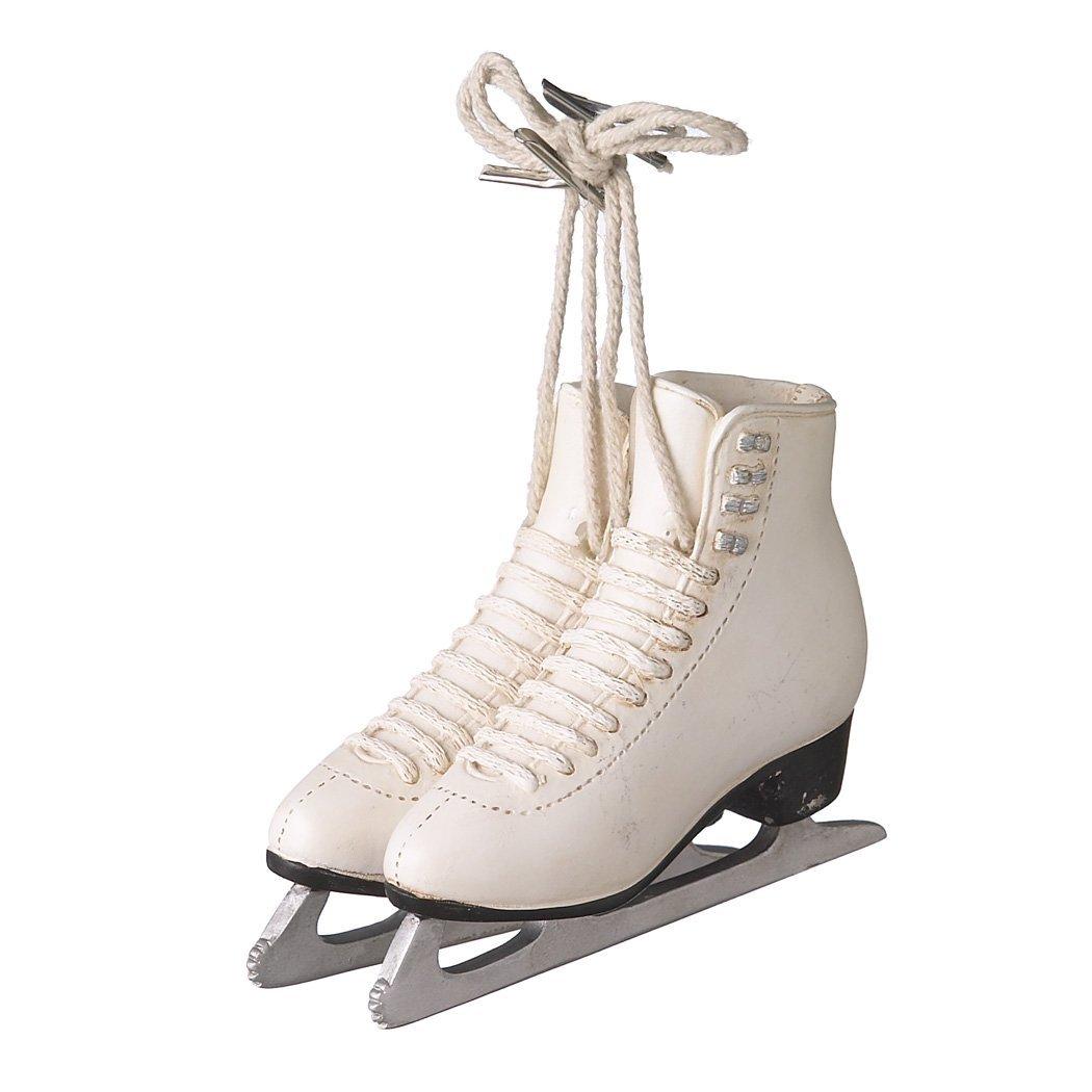 1 X Resin Ice Skating Ornament , Pair of Figure Skates Hanging Tree ...