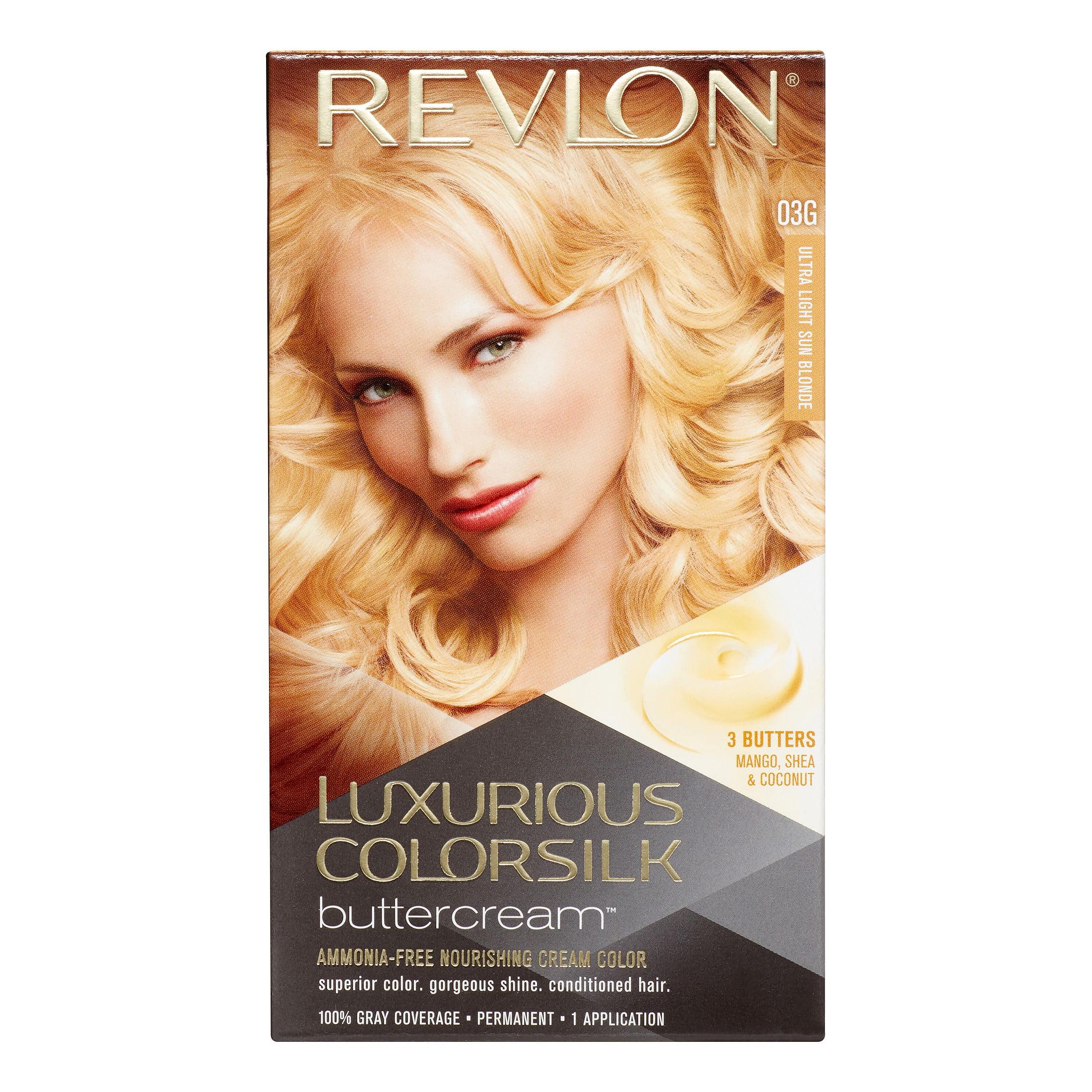 Revlon Luxurious Colorsilk Buttercream Hair Color Ultra Light Sun