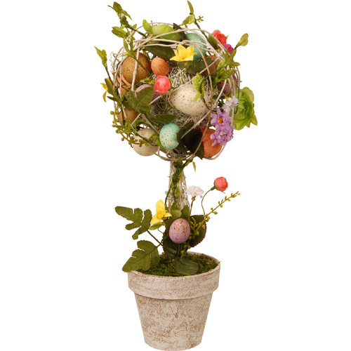 """17"""" Garden Accents Easter Egg Topiary by National Tree"""