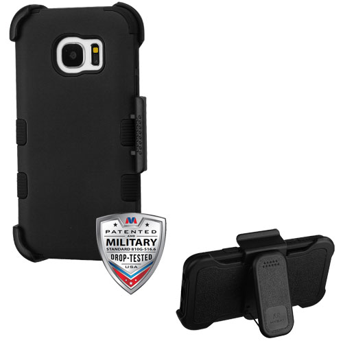 For Samsung Galaxy S7  TUFF Hybrid Phone Armor Protector Cover Case w/ Holster