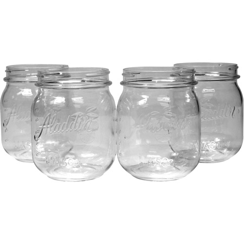 Aladdin 16oz Mason Cup, Set Of 4