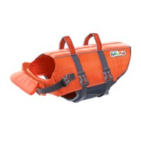 Dog Life Jacket RiPetstagestop Life Jacket for Dogs by Outward Hound, Small, Orange