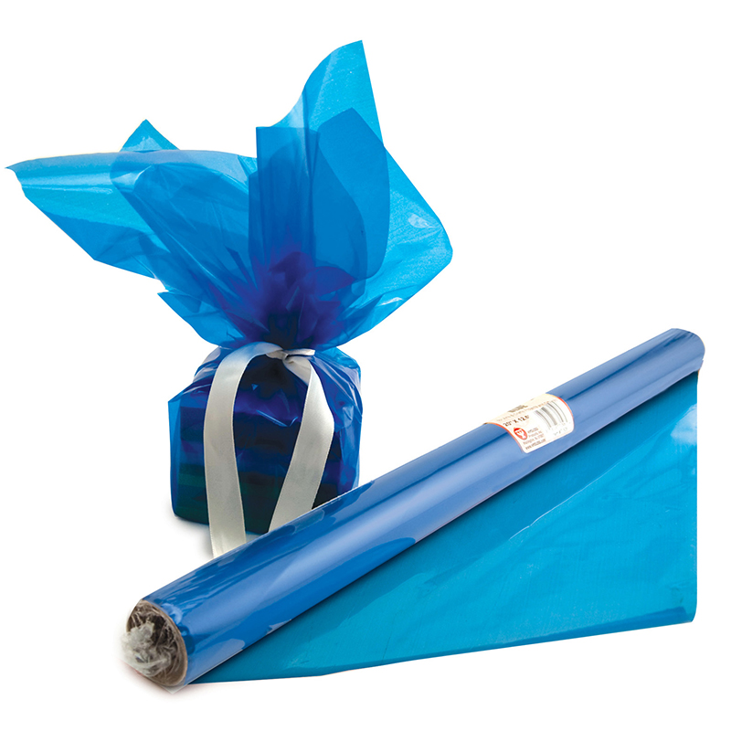 CELLO WRAP ROLL BLUE