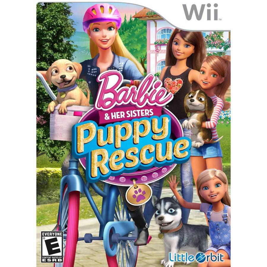 Barbie And Her Sisters: Puppy Rescue (Wii)