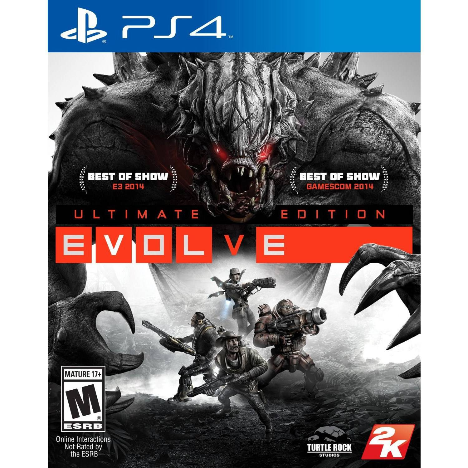 Evolve Ultimate Edition (PS4)