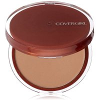 CoverGirl Clean Pressed Powder Compact, Soft Honey [155], 0.39 oz (Pack of 2)