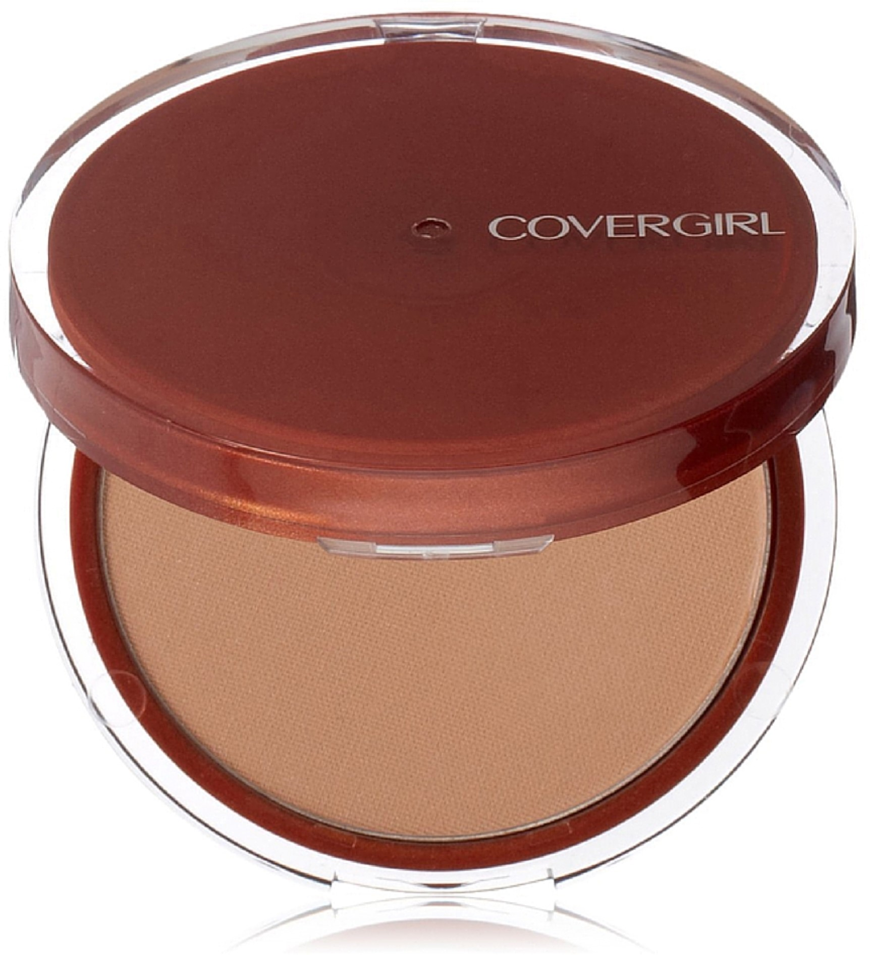 CoverGirl Clean Pressed Powder Compact, Soft Honey [155], 0.39 oz (Pack of 6)