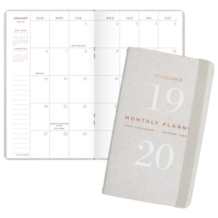 - At-A-Glance Signature Collection 2-Year Monthly Pocket Planner - Planners &