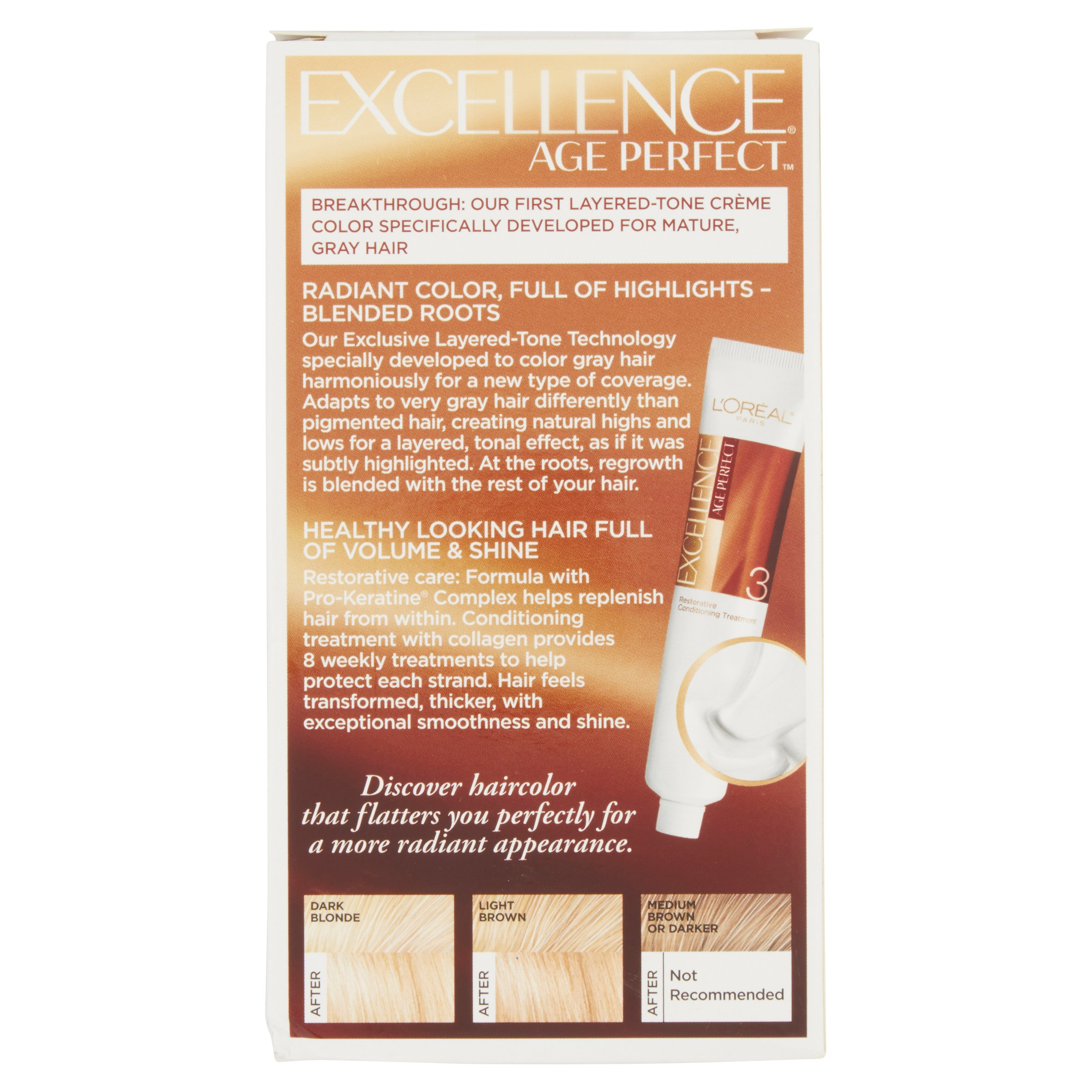 Loreal Paris Excellence Age Perfect 7g Dark Soft Golden Blonde 1