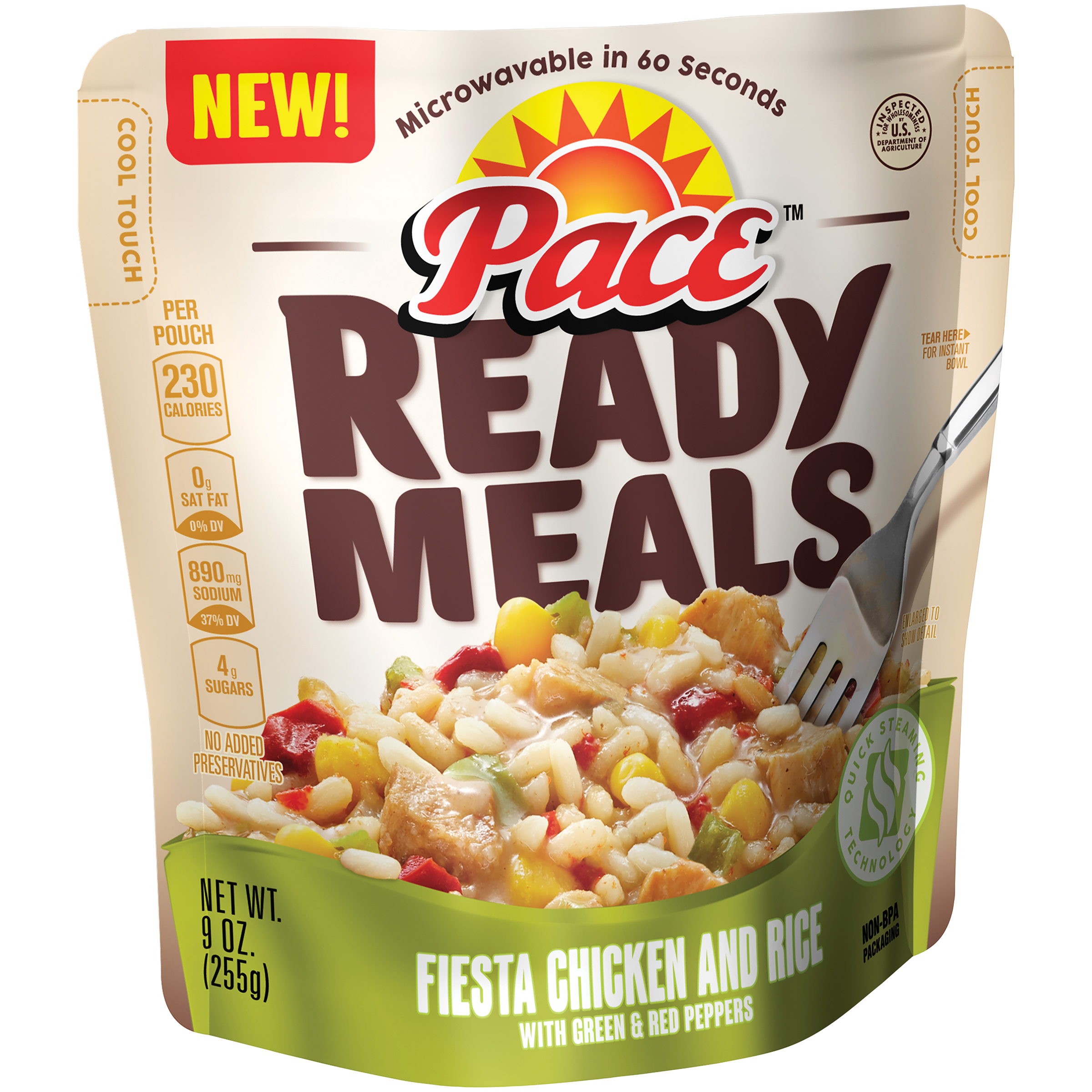 Pace Ready Meals Fiesta Chicken and Rice 9oz