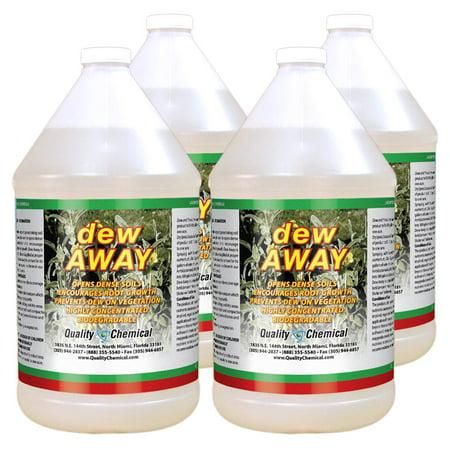 Dew Away Deep Down Soil Penetrant - 4 gallon case