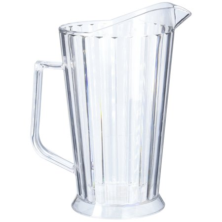 winco polycarbonate beer pitcher 60 ounce. Black Bedroom Furniture Sets. Home Design Ideas