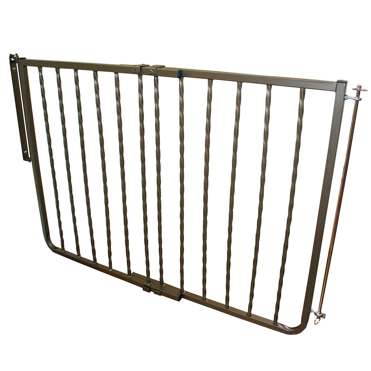 Click here to buy Cardinal Gates Stairway Wrought Iron Decor Gate by Cardinal Gates.