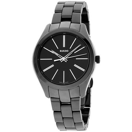 Rado R32159152 Hyperchrome Ladies Watch -Black Dial Ceramic/Stainless Steel Band Black Dial Ceramic Bezel