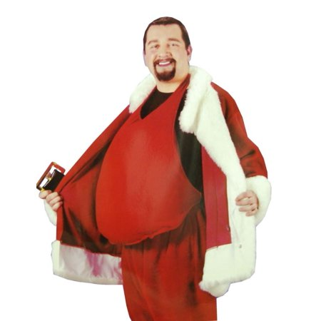 Santa Belly Adult Accessory