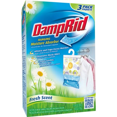 Damprid Hanging Bag Moisture Absorber Fresh Scent 14 Oz