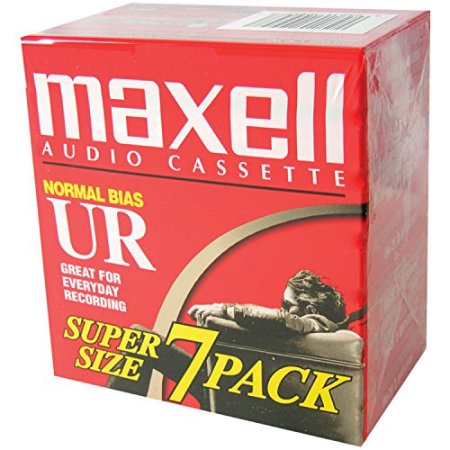 5 x Maxell UR-90 7 Pack Blank Audio Cassette Tapes (total 35)](Halloween Cassette Tapes)