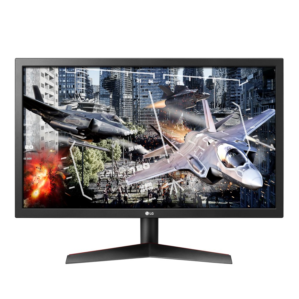 "LG 24"" 1920x1080 HDMI DP 144hz 1ms TN FHD Gaming Monitor - 24GN50W-B"