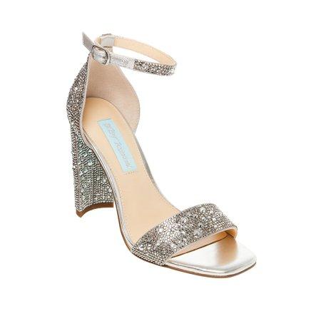 Rina Embellished Sandals Betsey Johnson Ladies Platform