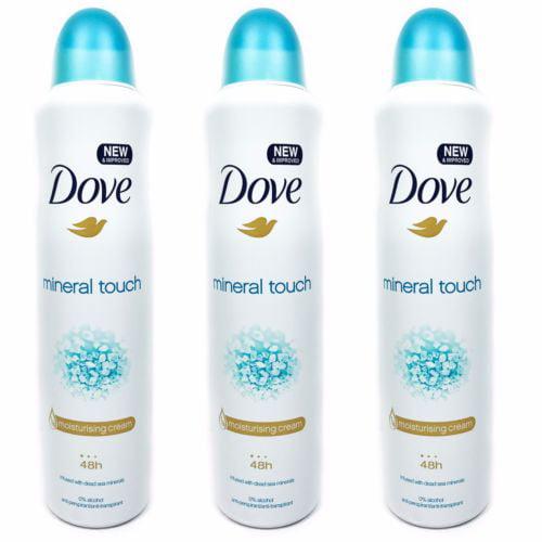 Dove Antiperspirant Body Spray 250 Ml Mineral Touch Pack Of 3 Walmart Com Walmart Com
