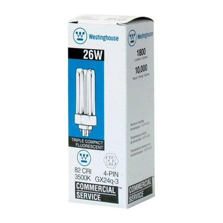 Westinghouse Lighting 26W GX24q Dimmable Compact Fluorescent Stick Light Bulb](Light Sticks Bulk)