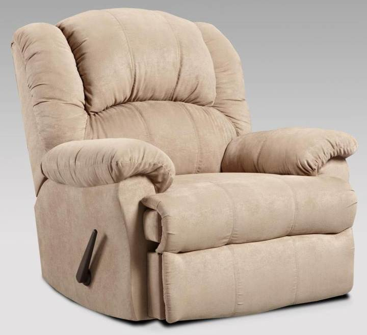 Ambrose Transitional Chaise Rocker Recliner