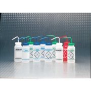 SP SCIENCEWARE Clear, Wash Bottle, 6 Pack, 116460631