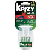 Elmer's Instant Krazy Glue, All-Purpose Single Use Tube, 2-Tube/Pkg.