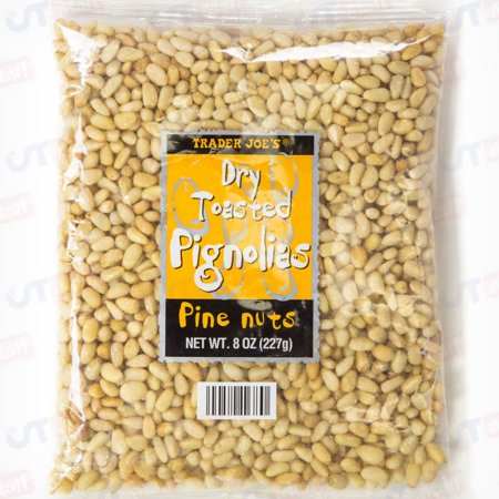 Trader Joe's Dry Toasted Pignolias (Pine Nuts) - Pack of