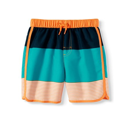 Wonder Nation Swim Trunks (Toddler - Toddler Boys Swimwear