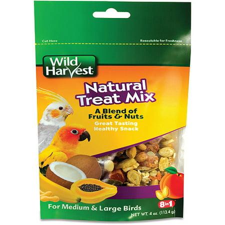 Wild Harvest Natural Treat Mix For Medium   Large Birds  4 Oz
