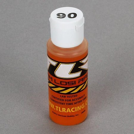 Team Losi Silicone Shock Oil 90 Wt 2 Oz