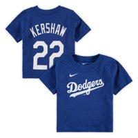 Clayton Kershaw Los Angeles Dodgers Nike Infant Player Name & Number T-Shirt - Royal