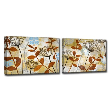 Ready2HangArt Meadow Melody I/II Canvas Wall Art - Set of