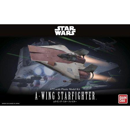 Bandai Hobby Star Wars 1/72 A-Wing Starfighter Model Kit