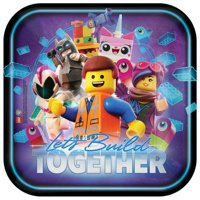 Lego Movie 2 Square Lunch Plate (8)