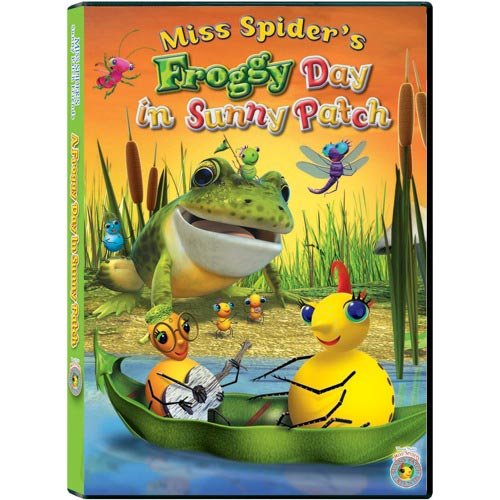 Miss Spider's: A  Froggy Day In Sunny Patch (Full Frame)
