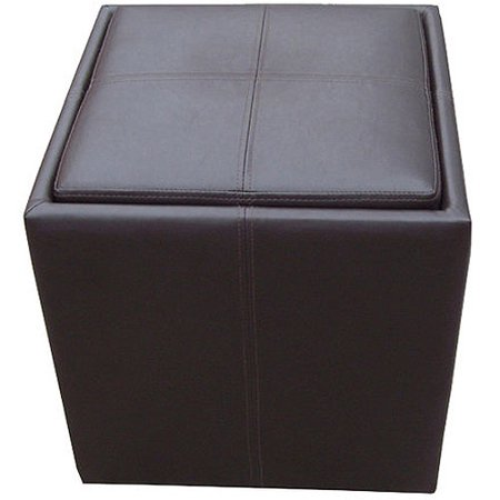 Better Homes And Gardens Storage Ottoman Brown
