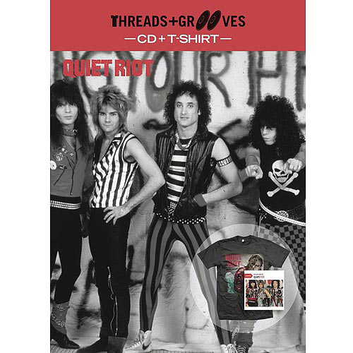 Threads & Grooves (CD + Large T-Shirt)
