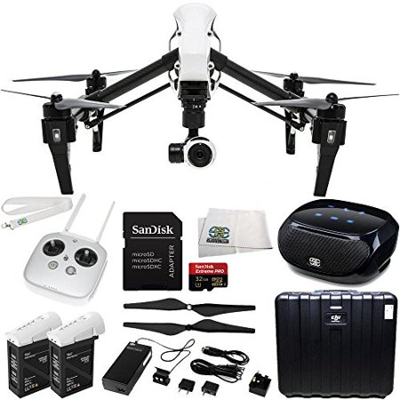 DJI Inspire 1 EVERYTHING YOU NEED Kit. Includes SanDisk Extreme PRO 32GB UHS-I/U3 Micro SDHC Memory Card (1 Gig Kit)