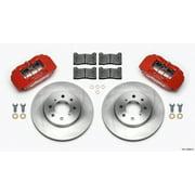 Wilwood DPHA Front Caliper & Rotor Kit Red Honda / Acura w/ 262mm OE Rotor