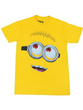 Despicable Me Minion Face Adult T-Shirt