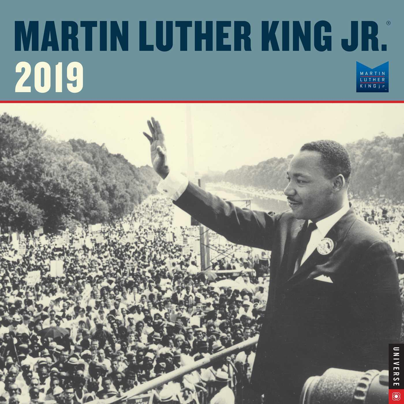 Martin Luther King Jr. 2019 Wall Calendar (Other)